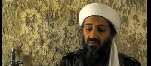 Osama Bin Laden, father of hi-tech terrorism. [Image credit : KellyWurx/Youtube.]