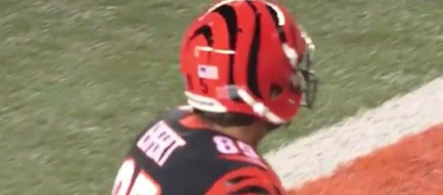 Tyler Eifert could be an ideal free agency target for the Packers. [Image via ZC Productions/YouTube Screencap]