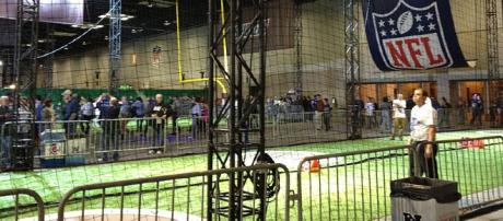 NFL Experience inside Indianapolis Convention Center [image source: SAB0TEUR/ Wikimedia Commons]