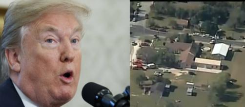 Donald Trump on Texas shooting, via Twitter