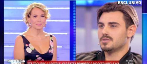 """Francesco Monte contro Ignazio Moser a Domenica Live: """"E' un ... - bitchyf.it"""
