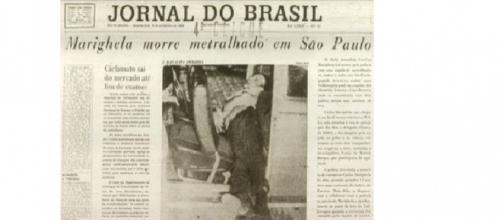 Jornal do Brasil, anunciando seu assassinato em São Paulo