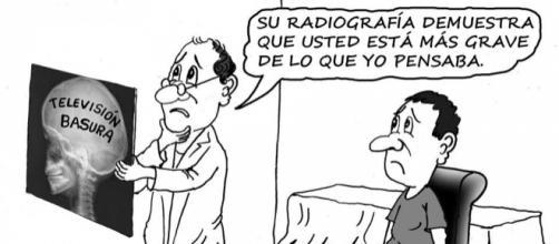 La tele basura afecta a una gran cantidad de la población española.