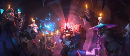The Kobolds And Catacombs was announced at BlizzCon 2017. (Image Credit: Hearthstone/YouTube)