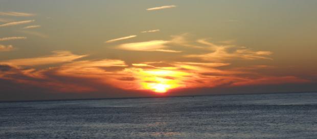 @ Daniel Schmahl: Sonnenuntergang am Strand