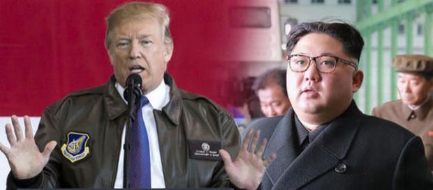Donald Trump a dat un avertisment sever dictatorului nord-coreean Kim Jong-un - Foto: express.co.uk (credit Getty Images)