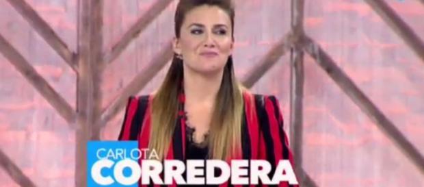 La parte menos conocida de Carlota Corredera.