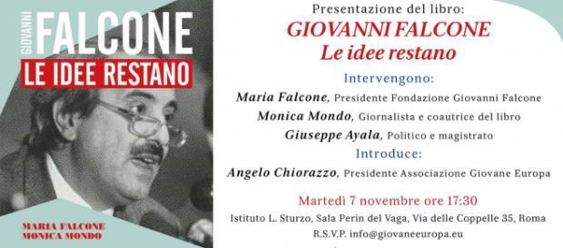 """Presentazione del libro """"Giovanni Falcone. Le idee restano"""""""