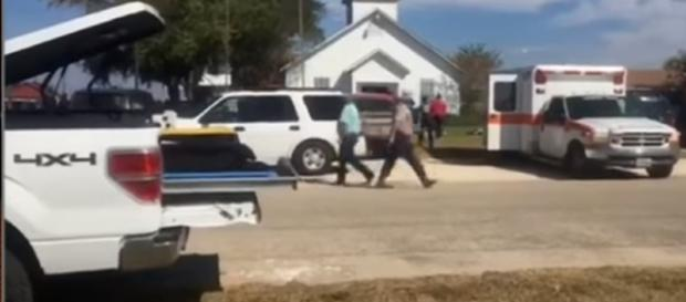 Shooting at Texas Curch. Image credit - CNN | YouTube