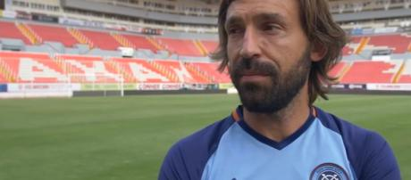 Andrea Pirlo retires from football after leaving New York City FC. Image credit - Dudes In Blue | YouTube
