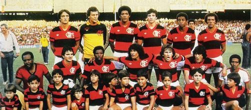 A equipe que goleou o Botafogo no dia 8 de novembro de 1981