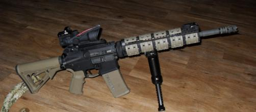 AR-15 most common mass shooting weapon (via Wikipedia Commons)