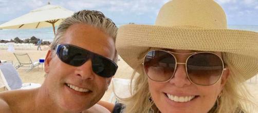 David Beador and Shannon Beador enjoy a vacation. [Photo via Shannon Beador/Instagram]