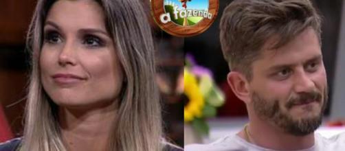 Flávia Viana e Marcos Harter, de ''A Fazenda''