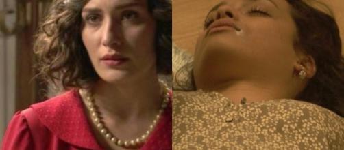 Il Segreto, anticipazioni: Lucia si suicida per amore?