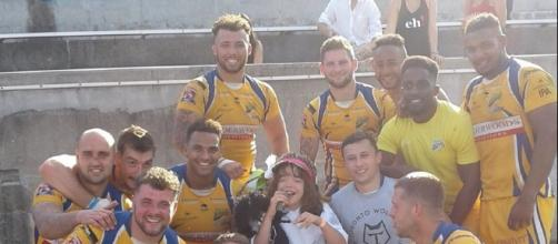 Jack O'Brien with the Hemel Stags
