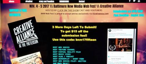 The Baltimore New Media Web Fest featured Web series from far and wide. (Photo used with permission from Neva Krauss)