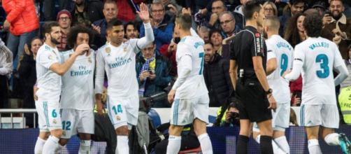 Time celebrou regresso às vitórias no Bernabéu