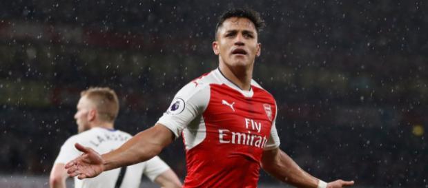 Alexis Sanchez könnte ab der Rückrunde für Bayern spielen (Quelle: tribuna.com)