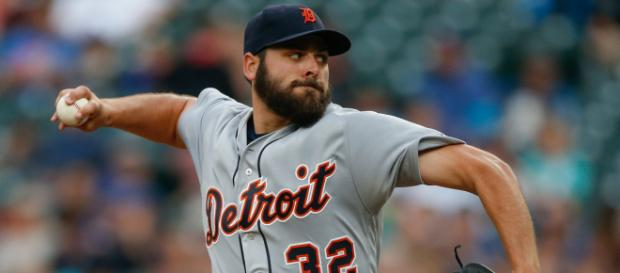 Are the Tigers looking to deal Michael Fulmer? [Image via MLB/YouTube]