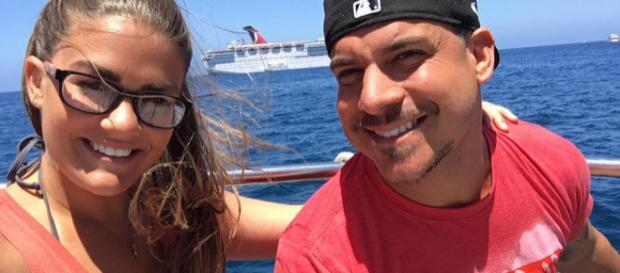 Brittany Cartwright and Jax Taylor on a boat. [Photo via Brittany Cartwright/Instagram]