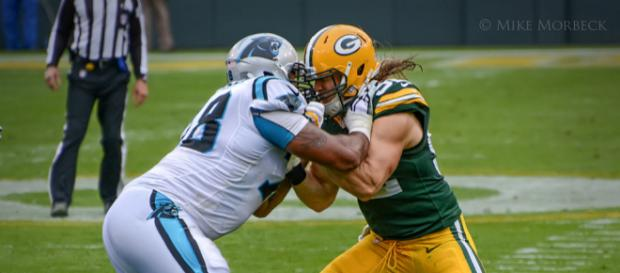 Green Bay Packers on defense. Photo credit: Mike Morbeck (Flickr)