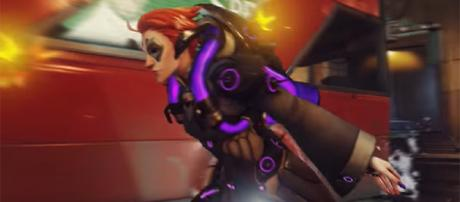 """Moira is the newest addition to the """"Overwatch"""" Public Test Realm on PC. [Image credit: PlayOverwatch/YouTube]"""