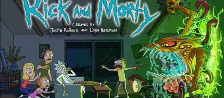 Rick and Morty banner - denofgeek.com