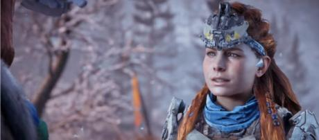 """The launch trailer of """"Horizon Zero Dawn: The Frozen Wilds"""" was recently released. [Image Credits: PlayStation/YouTube]"""