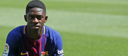 Apenas llegado al Barcelona se lesionó