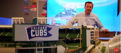 Cubs owner Thomas S. Ricketts has been renovating Wrigley sine 2014 - image - USA TODAY Sports/Youtube