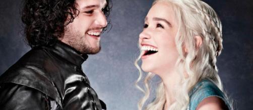 Game of Thrones: Jon Snow e Daenerys