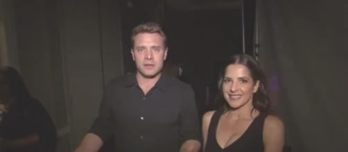 'General Hospital' stars Billy Miller and Kelly Monaco are quite close - Image via YouTube screenshot