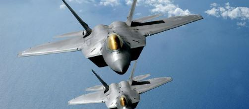 Image Credit: F-22 Raptors U.S. Air Force photo by Master Sgt. Kevin J. Gruenwald/Wikimedia Creative Commons
