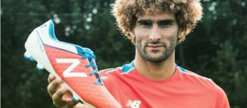 Marouane Fellaini attaque New Balance !