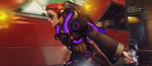 "Moira is the newest addition to the ""Overwatch"" Public Test Realm on PC. [Image credit: PlayOverwatch/YouTube]"