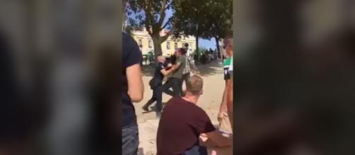 Policia da PSP foi barbaramente agredido
