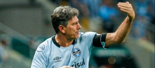 Renato Portaluppi, técnico do Grêmio (Foto: Lucas Uebel)