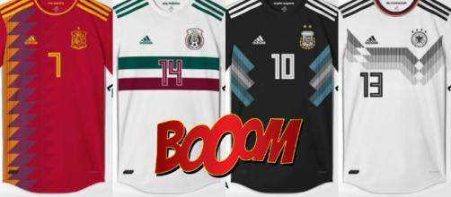 Spoiler: Así lucirían los jerseys para el Mundial Rusia 2018 ... - soyreferee.com