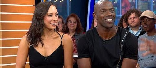 "Terrell Owens and Cheryl Burke eliminated from ""Dancing with the Stars"" [Image: Good Morning America/YouTube screenshot]"