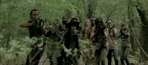 The living fight to survive in 'The Walking Dead' [image courtesy of trailer screenshot by Casey Florig