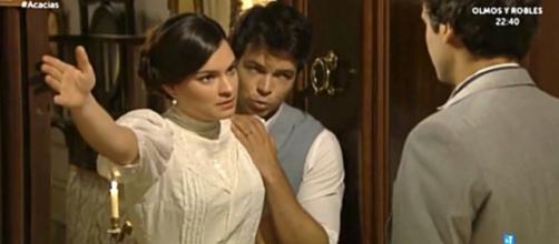 Una Vita anticipazioni al 17-11: Leonor e Pablo contro Liberto