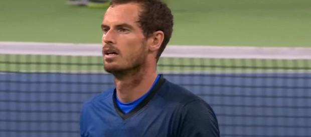 Andy Murray during The Match for Africa 3; (Image Credit: Eurosport channel/YouTube)