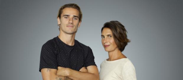 Antoine Griezmann et Alessandra Sublet (© TF1 - CapSub)