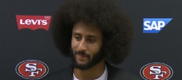 Colin Kaepernick last played for the San Francisco 49ers last season (Image Credit: NFL/YouTube)