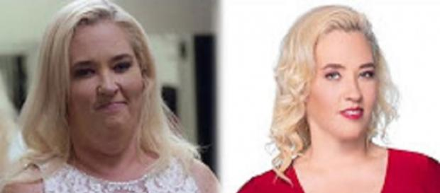 "Mama June Shannon boasts weight loss, forgets plastic surgery, gastric bypass. Source Youtube TLC ""From Not to Hot"""