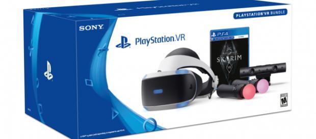 PlayStation to release 'Skyrim VR' Bundle [photo via playstation.com]