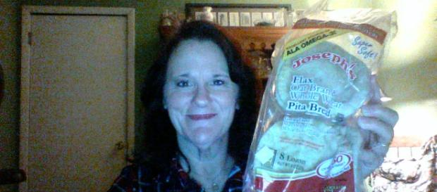 This happy camper has her carbs and weight loss too! [Image via Marilisa Sachteleben]