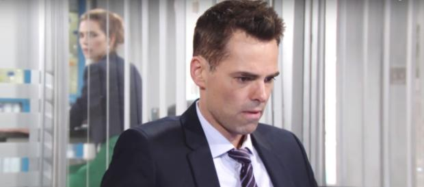 Victoria and Phyllis have Cane and Billy arrested.(Image via CBS/The Young and the Restless youtube screencap).
