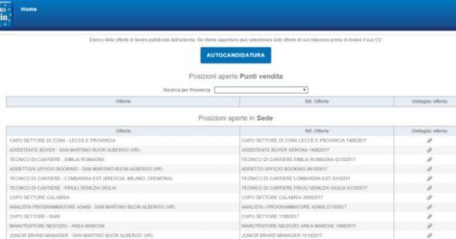 Offerte di lavoro: Piazza Italia ed Eurospin